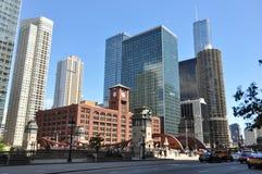 ουρανοξύστες του Σικάγ Στοκ εικόνες με δικαίωμα ελεύθερης χρήσης