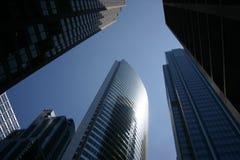 ουρανοξύστες του Σικάγ Στοκ εικόνα με δικαίωμα ελεύθερης χρήσης