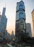 ουρανοξύστες του Χογκ Κογκ Στοκ Εικόνες