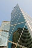 Ουρανοξύστες του Χογκ Κογκ Στοκ Φωτογραφία