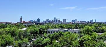 Ουρανοξύστες του Ώστιν Τέξας Στοκ φωτογραφία με δικαίωμα ελεύθερης χρήσης