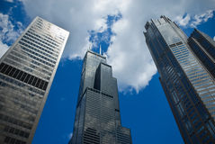 ουρανοξύστες ψηλοί Στοκ Εικόνες