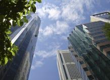 ουρανοξύστες Στοκ φωτογραφία με δικαίωμα ελεύθερης χρήσης