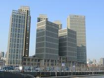 Ουρανοξύστες Tianjin Στοκ φωτογραφία με δικαίωμα ελεύθερης χρήσης