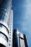 ουρανοξύστης δύο προοπτ&i στοκ φωτογραφία με δικαίωμα ελεύθερης χρήσης