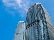 Ουρανοξύστης και ουρανός στοκ φωτογραφίες με δικαίωμα ελεύθερης χρήσης