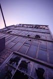 ουρανοξύστης καταστροφών Στοκ Φωτογραφία