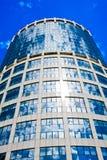 ουρανοξύστης μπλε ουρανού στοκ εικόνες