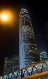 ουρανοξύστης νύχτας της Hong i Στοκ Εικόνα