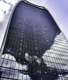 Ουρανοξύστης ομιλουσών ταινιών του Λονδίνου ` s Walkie Στοκ Εικόνες