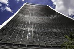 Ουρανοξύστης ομιλουσών ταινιών του Λονδίνου ` s Walkie Στοκ Φωτογραφία