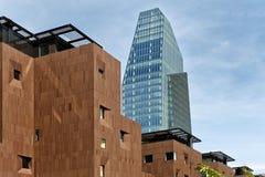 ουρανοξύστης σε Porta Nuova στο Μιλάνο, Ιταλία Στοκ Φωτογραφίες