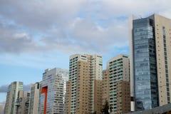 Ουρανοξύστης στη Σάντα Φε Στοκ Εικόνες