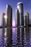 Ουρανοξύστης στο Ντουμπάι Στοκ εικόνες με δικαίωμα ελεύθερης χρήσης