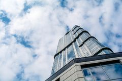 Ουρανοξύστης στο Σαράτοβ Στοκ φωτογραφία με δικαίωμα ελεύθερης χρήσης