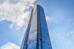 Ουρανοξύστης στο στο κέντρο της πόλης Τορόντο Στοκ Εικόνα