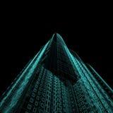ουρανοξύστης σχεδιαγρ&al Στοκ Φωτογραφίες
