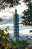 101 ουρανοξύστης Ταιπέι Στοκ εικόνες με δικαίωμα ελεύθερης χρήσης
