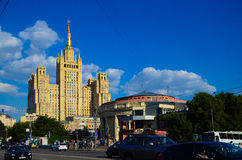 Ουρανοξύστης της Μόσχας Στοκ εικόνα με δικαίωμα ελεύθερης χρήσης