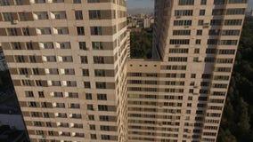 ουρανοξύστης της Μόσχας απόθεμα βίντεο