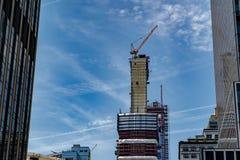 Ουρανοξύστης της Νέας Υόρκης κάτω από την κατασκευή στοκ φωτογραφία με δικαίωμα ελεύθερης χρήσης