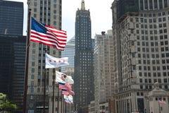 ουρανοξύστης του Σικάγου Στοκ Φωτογραφία