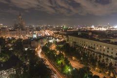Ουρανοξύστης του Στάλιν Στοκ φωτογραφία με δικαίωμα ελεύθερης χρήσης
