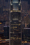 Ουρανοξύστης του Χογκ Κογκ Στοκ Εικόνες