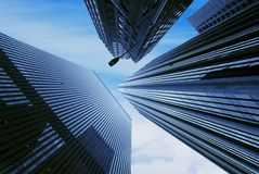ουρανοξύστης στοκ εικόνα