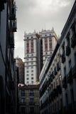 Ουρανοξύστης deco τέχνης España Edificio Plaza de España Στοκ φωτογραφία με δικαίωμα ελεύθερης χρήσης