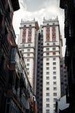 Ουρανοξύστης deco τέχνης España Edificio Plaza de España Στοκ Εικόνες