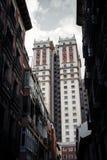 Ουρανοξύστης deco τέχνης España Edificio Plaza de España Στοκ Εικόνα
