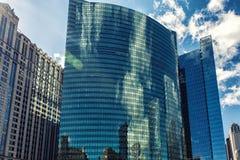 Ουρανοξύστης Drive Wacker Στοκ φωτογραφία με δικαίωμα ελεύθερης χρήσης