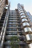 Ουρανοξύστης Lloyds στην πόλη, στο Λονδίνο Στοκ φωτογραφία με δικαίωμα ελεύθερης χρήσης