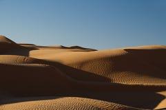 ουρανός άμμου Σαχάρας αμμό στοκ εικόνες