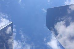 Ουρανός δέκα τρία χάλυβα Στοκ εικόνα με δικαίωμα ελεύθερης χρήσης