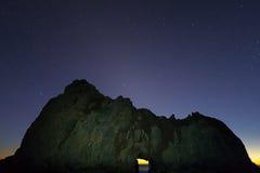 ουρανός έναστρος Στοκ Φωτογραφία