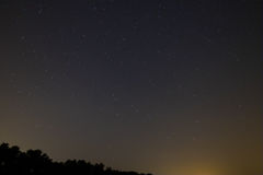 ουρανός έναστρος Στοκ Εικόνες