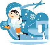 ουρανός αεροπλάνων κορι Ελεύθερη απεικόνιση δικαιώματος