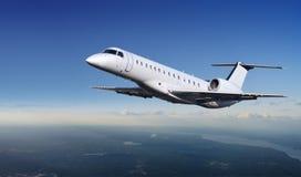 ουρανός αεροσκαφών στοκ εικόνα με δικαίωμα ελεύθερης χρήσης