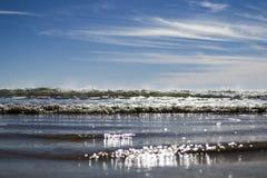 ουρανός ακτών Στοκ φωτογραφία με δικαίωμα ελεύθερης χρήσης