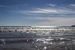 ουρανός ακτών στοκ εικόνα