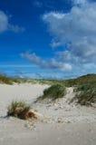 ουρανός αμμόλοφων Στοκ εικόνα με δικαίωμα ελεύθερης χρήσης