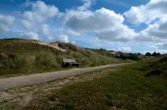 ουρανός αμμόλοφων Στοκ Εικόνα