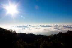 ουρανός ανασκόπησης Στοκ φωτογραφία με δικαίωμα ελεύθερης χρήσης