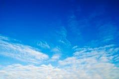 ουρανός ανασκόπησης Στοκ Εικόνα