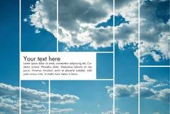 ουρανός ανασκόπησης ελεύθερη απεικόνιση δικαιώματος