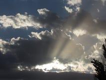 Ουρανός ανατολής Στοκ Φωτογραφία