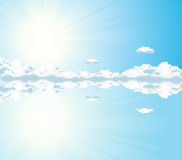 ουρανός αντανάκλασης ελεύθερη απεικόνιση δικαιώματος
