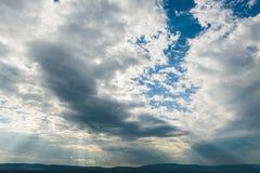 Ουρανός απογεύματος Στοκ εικόνα με δικαίωμα ελεύθερης χρήσης
